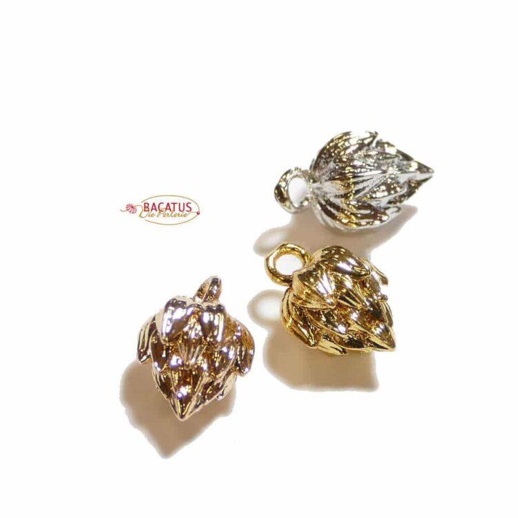 Metallperle-lotusblume-12x8
