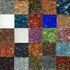 O Beads 4 mm Farbauswahl, 50 Stück