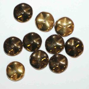 Ripple Beads Preciosa 12 mm Farbauswahl, 10 Stück