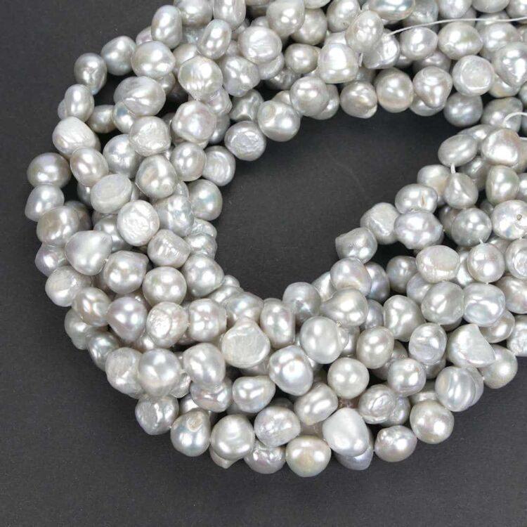 Perle d'acqua dolce_Nuggets_silver