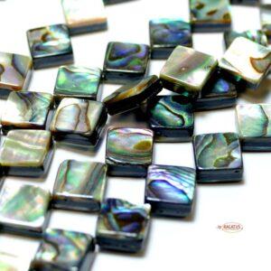 Abalone Perlmutt Rechteck 8mm, 1 Strang