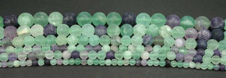 fluorit-kugel-matt