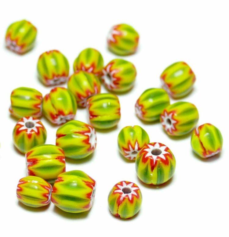 glasperlen-chevron-grün-gelb-7