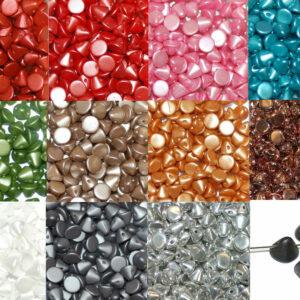 Button Beads 4 mm Farbauswahl, 20 Stück