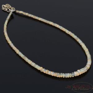 Äthiopien Opal Rondelle ca. 4,5-7mm, 1 Strang