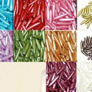 Thornbeads 16 x 3,6 mm Farbauswahl, 20 Stück