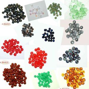 Piggy Beads 8 mm Farbauswahl, 20 Stück