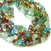 Kristallglasperlen-facettierte-Rondelle