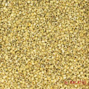 Miyuki Rocailles 11-4512 giallo opaco picasso 9.9g