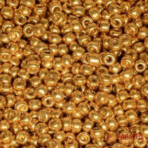 Miyuki Rocailles 6-4203 duracoat galvanized yellow gold 9,9g