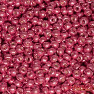 Miyuki Rocailles 6-4211 duracoat galvanized light cranberry 9,9g