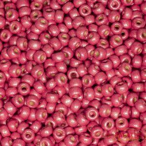 Miyuki Rocailles 6-4211F duracoat galvanized matte light cranberry 9,9g
