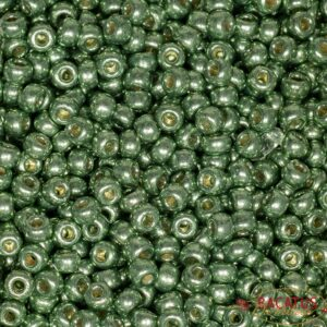 Miyuki Rocailles 6-4215 duracoat galvanized sea green 9,9g