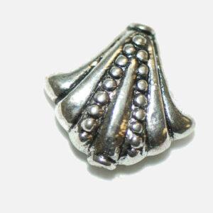 Ornamento distanziatore perline in metallo 17×16 mm, 3 pezzi
