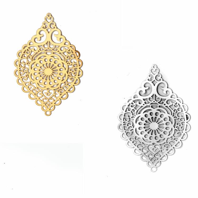 Metallanhänger, orientalisch