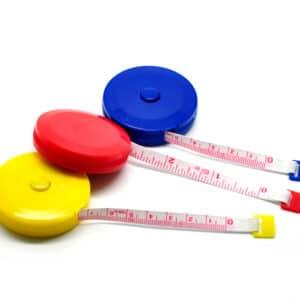 Messband, Maßband, Schneidermaßband/ Spule 1,50 x 0,75 cm